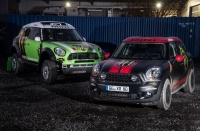 Ekipa X-raid in MINI Countryman z off-road obliko