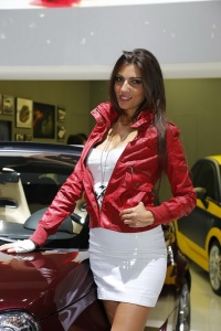 Motorshows  Paris  2012 Hostese