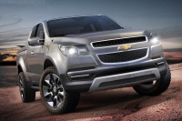 Chevrolet je predstavil razstavni model poltovornjaka Colorado