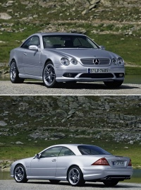 Mercedes benz CL 65 AMG in S 65 AMG